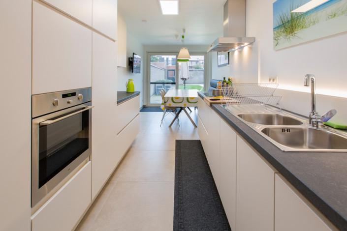 Foto op kot brugge - Ingerichte keuken ...